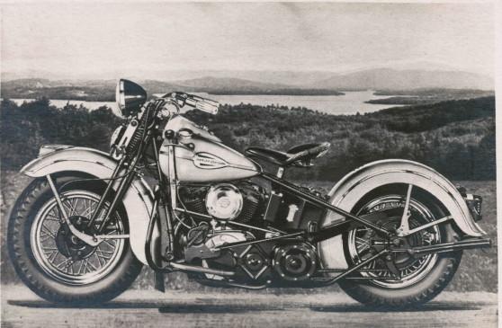 28 Harley Devidson model 74